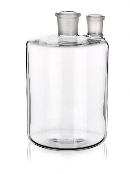 Бутыль Вульфа с 2 горловинами, 5000 мл, без крана