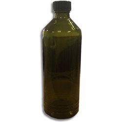 Бутылка из темного стекла, с пластмассовой крышкой, 500 мл