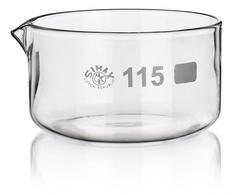Чашка кристаллизационная, с носиком, 90 мл