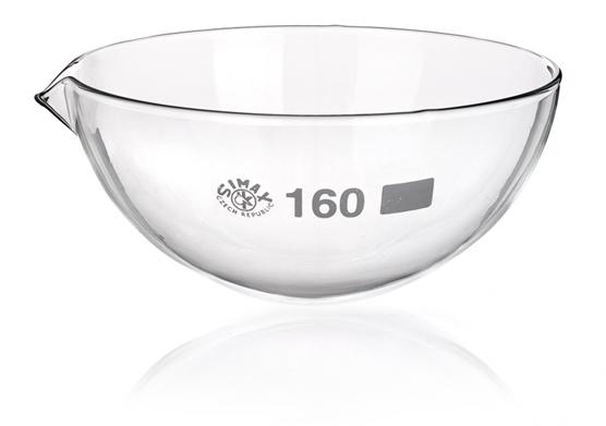 Чашка выпарная, 1700 мл, круглодонная