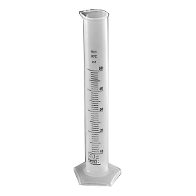 Цилиндр 100 мл с дел., высокий, п/п