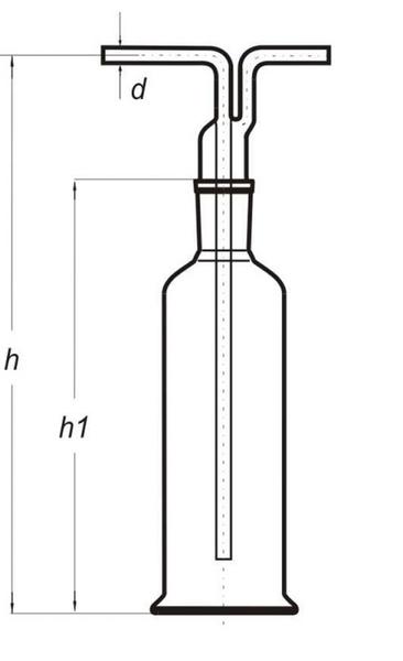 Склянка Дрекселя, 500 мл