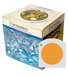 Микробиологический экспресс-тест (подложка) на дрожжи/грибы «Петритест»