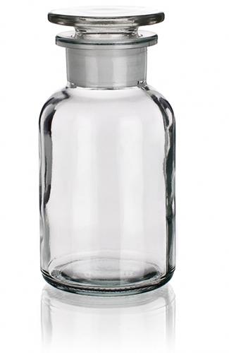 Склянка светлая (флакон), 10000 мл, с пробкой (шир. горловина)