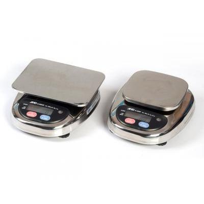 Компактные влагозащищенные весы AND HL-1000WP