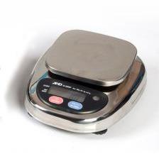 Компактные влагозащищенные весы AND HL-3000WP