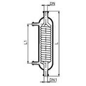 Холодильник со штуцерами, KZA25/KZB25, 800 мм