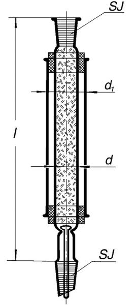 Колонка дистилляционная Гемпеля, 300 мм 14/23