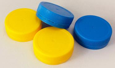 Полимерный колпачок синий 48 мм НГ (низкое горло)