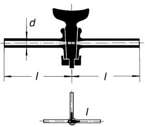 Кран двухходовой, 2,5 мм