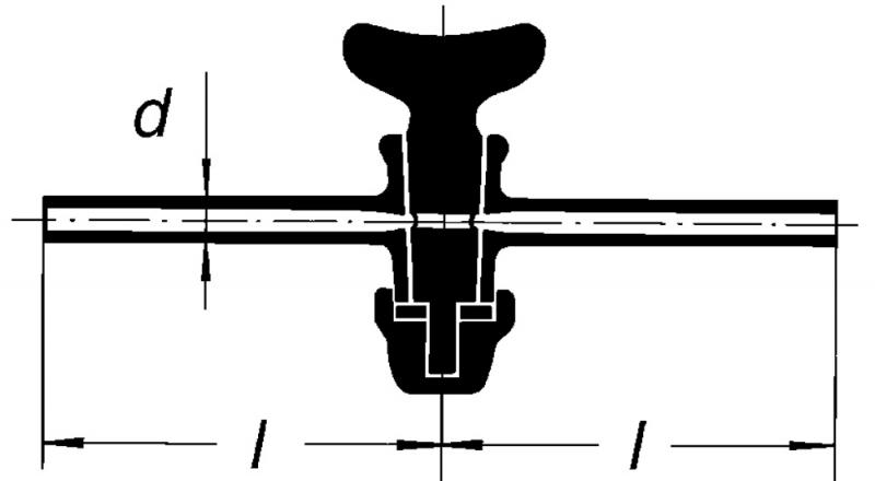 Кран одноходовой, 4,4 мм
