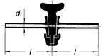Кран одноходовой, 6,3 мм