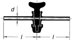 Кран одноходовой, 8 мм