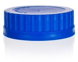 Винтовая крышка, синяя, GL 80
