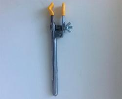 Держатель без скобы, длина 186 мм, пластиковое покрытие