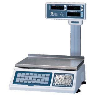 Торговые весы Acom PC-100E-6BP