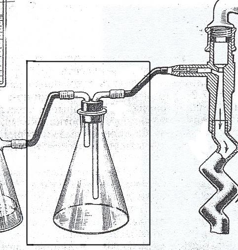 Предохранительная склянка (для фильтрации)