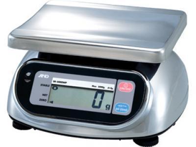 Порционные влагозащищённые весы AND SK-1000WP