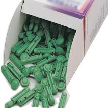 Скарификатор Soft, 30G зеленый для ручки-держателя