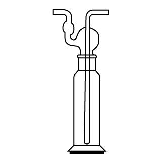 Склянка для промывания газов сн-1-250