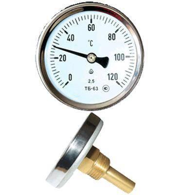 Термометр ТБ-63-50 0+250-2,5-О