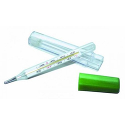 Термометр мед. ртутный пласт. футляр х1
