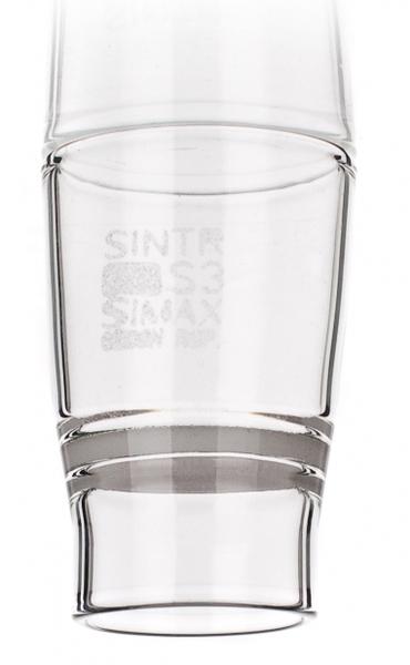 Тигель фильтрующий, 35 мл. S3/30*60, конической формы, тип Гуча, с пластиной