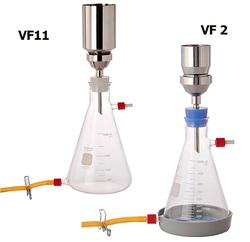Фильтрационные комплекты VF2 и VF11 с воронками из нержавеющей стали