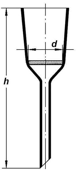 Воронка Шотта, S3/210*575