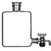 Бутыль Вульфа с краном, 500 мл