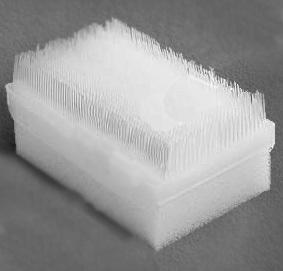 Щётка пластиковая в блистерной упаковке, Гритмед