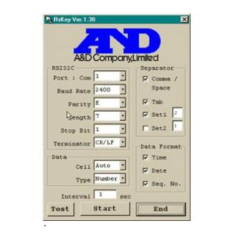 WinCT программный продукт для работы с весами AND