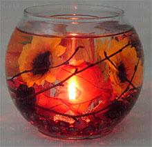 Гелевая свеча