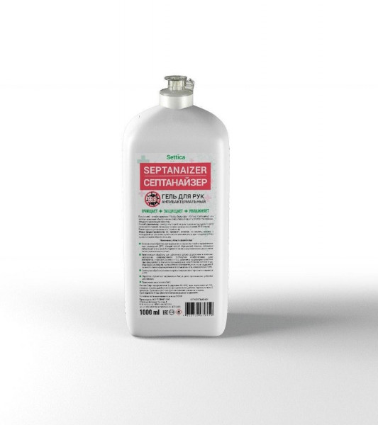 "Антисептик для кожи Settica ""Septanaizer"" жидкий, 1 литр"