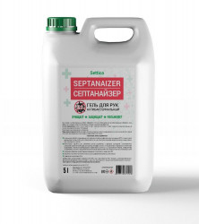 "Антисептик для кожи Settica ""Septanaizer"" жидкий, 5 литров"