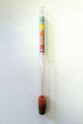 Ареометр для измерения содержания соли в жидкостях