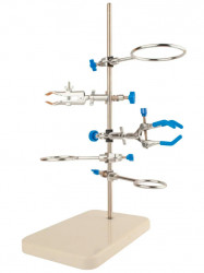 Штатив Бунзена Primelab, малый, длина стойки 50 см  (Штатив Бунзена PL-ST-S)