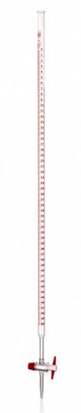 Бюретка, 100 мл, с прямым тефлоновым краном