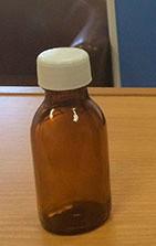 Стеклобутылка 100 мл темное стекло