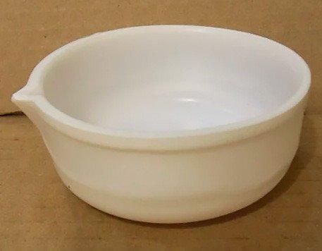 Чашка фторопластовая плоскодонная с носиком, 300 мл
