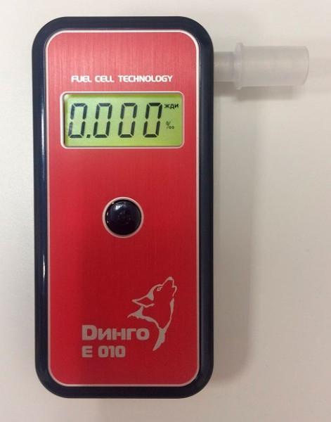 Анализатор паров этанола в выдыхаемом воздухе Динго Е-010