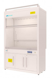 Шкаф вытяжной Eco-1500-8 ШВМLg, 1565х800х2400 мм
