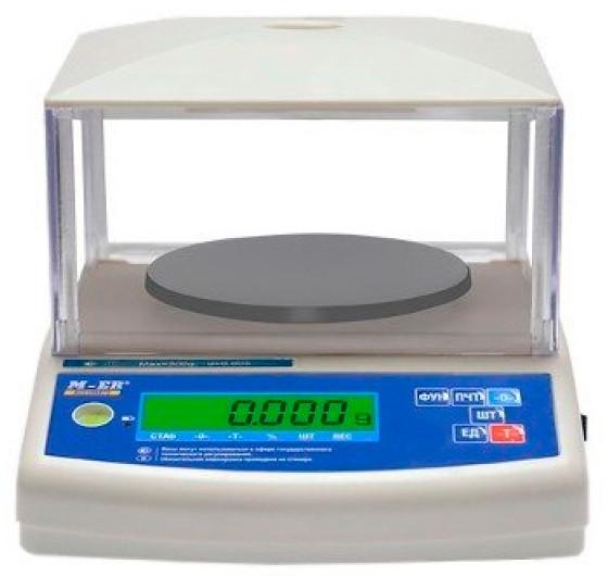 Весы M-ER 122ACF JR-300.01 LCD+ гиря
