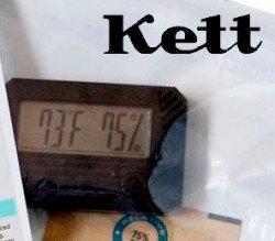 Набор для калибровки температуры для влагомера KETT FD-800