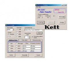 Программное обеспечение для влагомеров KETT FD