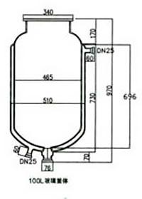 Лабораторный реактор Kori SF, 100 литров