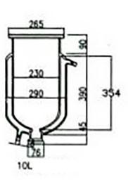 Лабораторный реактор Kori SF, 10 литров