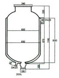 Лабораторный реактор Kori SF, 200 литров