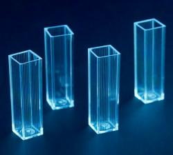 Кювета  спектрофотометрическая тип А одинарная 4 мл в штативе, п/с, уп.100 шт, Литопласт