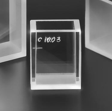Кювета кварцевая для спектрофотометрии, 20 мм